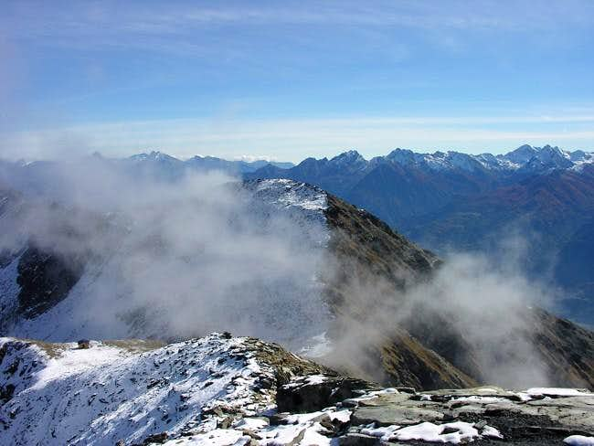 Il mont Mary (2815 m) visto...