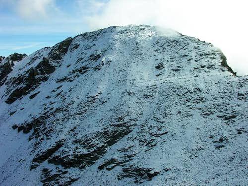 Il versante nord del mont...
