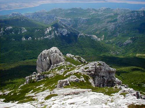 Vaganski Vrh via Liburnija (1710m)