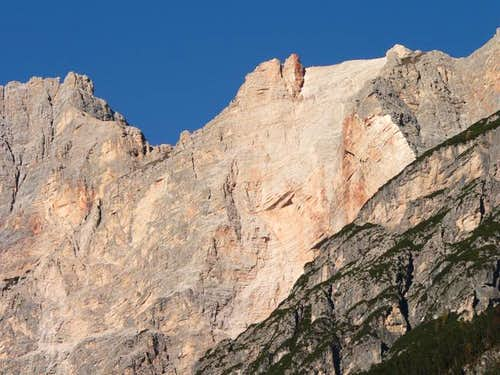 Mt Sorapis as seen from S.Vito