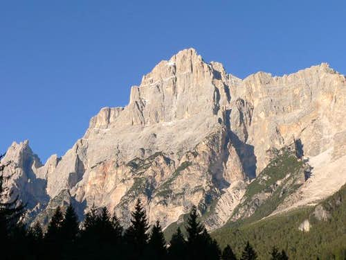 Sorapis as seen from San Vito...
