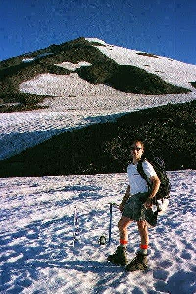 Mike on south spur. Sep '98.