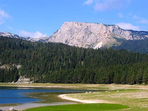 Crvena Greda from Crno Jezero