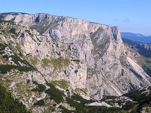 Massif of Crvena Greda (2175...