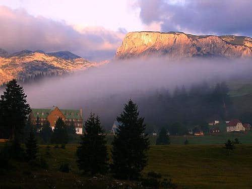 Crvena Greda (2175 m) during...