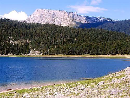 Crvena Greda (2175 m) from...