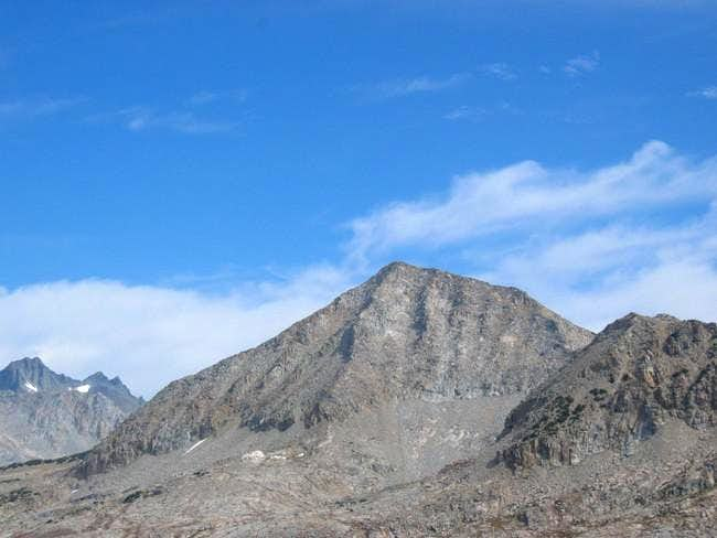 Foerster Peak's SW Face, with...