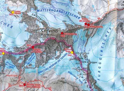 Great Map of Matterhorn