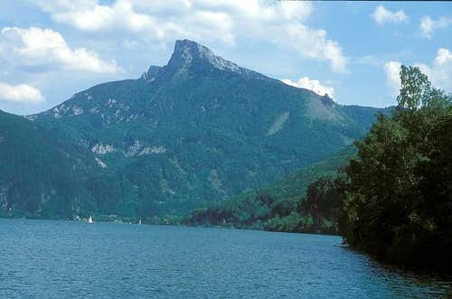 Schafberg seen from NW from...