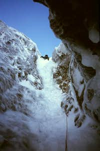Ian Parnell leading Pitch 3...