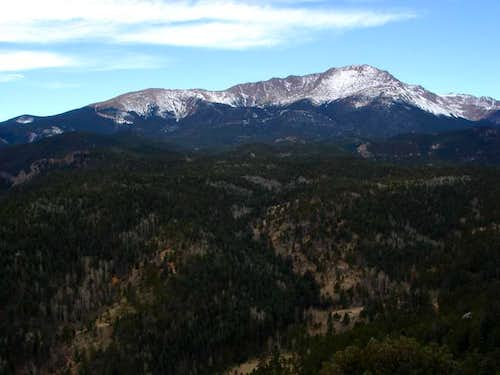 Great view of Pikes Peak from...