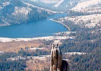 Solo climber atop Eichorn...