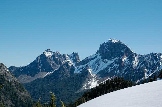 American Border Peak and...