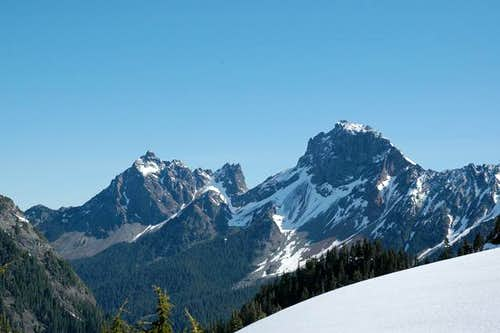 American Border Peak and...