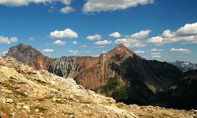 American Border Peak and Mt....