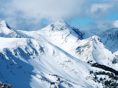 Kent Peak\'s east face from...