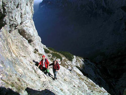 On Kopinsek ferrata,...