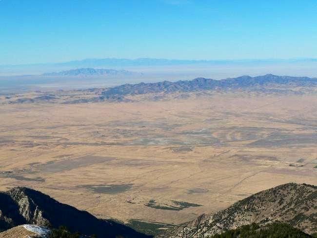 Ibapah Peak from the summit...