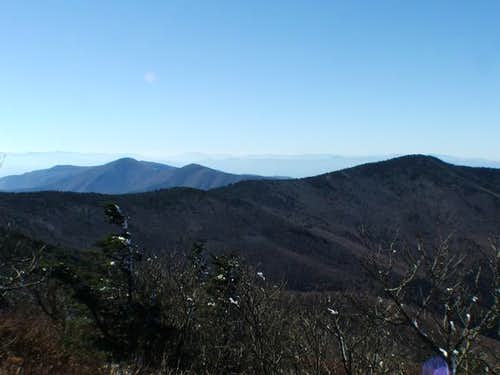 Craggy Dome is the high point...