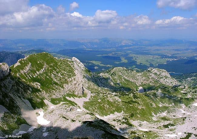 Rbatina (2401m) from the...