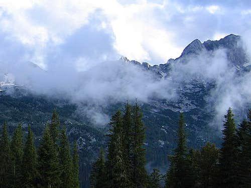 Rbatina (2401 m) during...