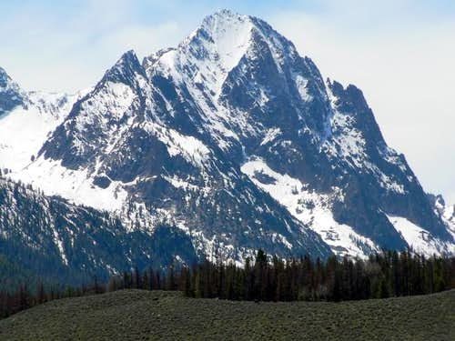 Hortsman Peak in June. This...