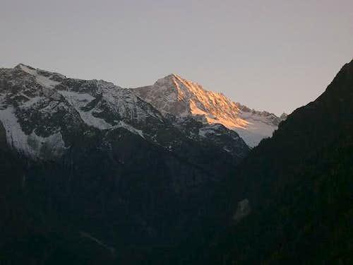 Adamello from Val Camonica