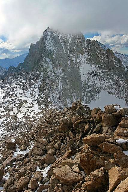 Mt. Russell from the summit...