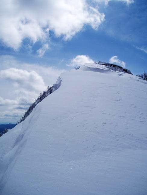 A big cornice on top of...