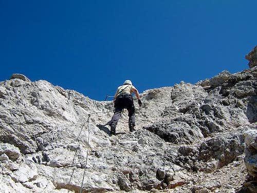Some climbing, some walking...