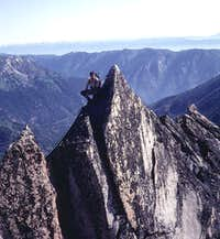 North Buttress Route, Colchuck Peak