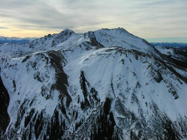 Italian Mountain & Lambertson Peak