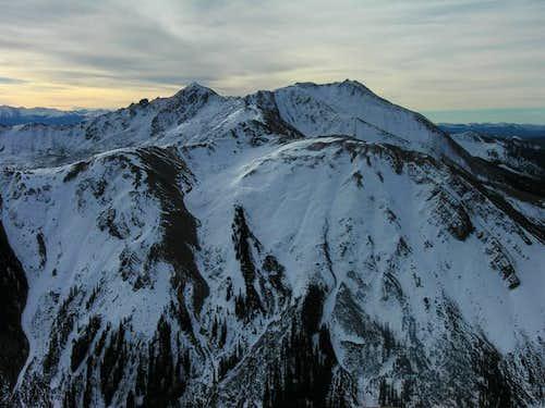 Italian Mountain & Lambertson Peak