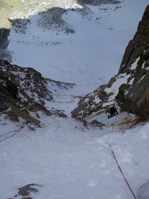 North Couloir Direct