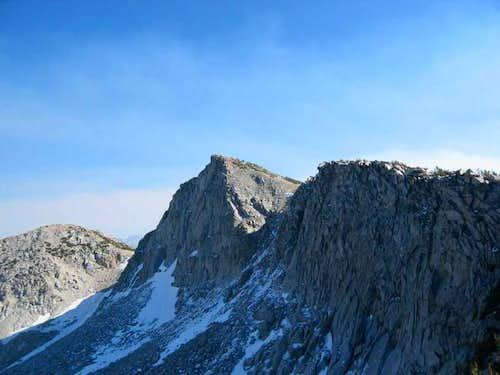 Looking back to Tunemah Peak...