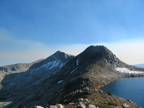 Tunemah Peak (left...