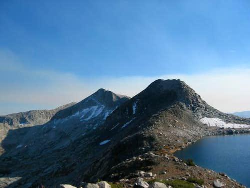 Tunemah Peak (left...