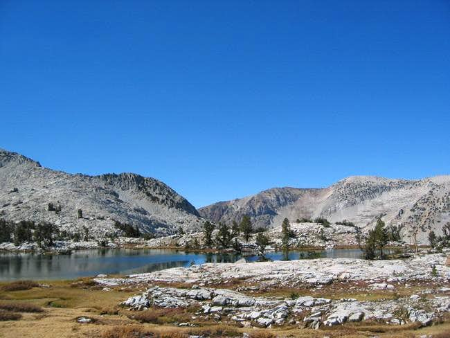 Lake 10,401' in the upper...