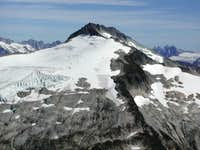 Icy Peak from the base of...