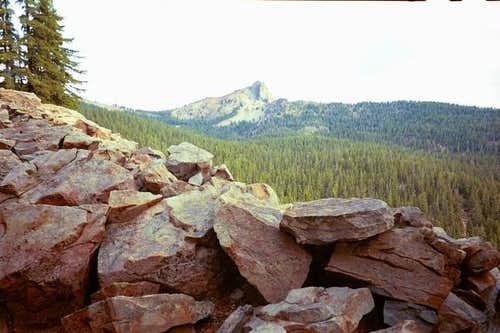 Cowhorn Mountain from the PCT.