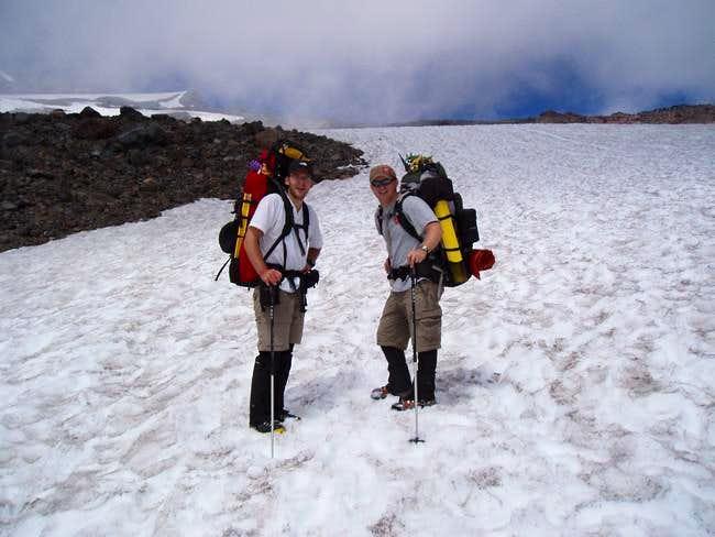Start of the Muir Snow Field,...