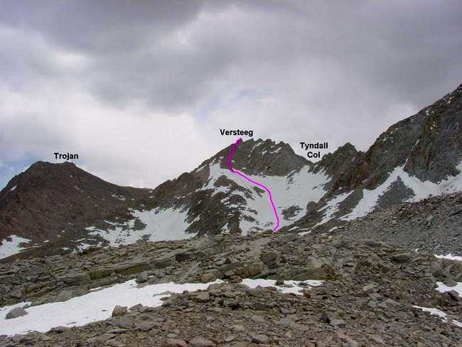 Mt. Versteeg viewed from...