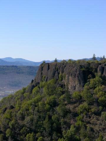 Lower Table Rock as seen...