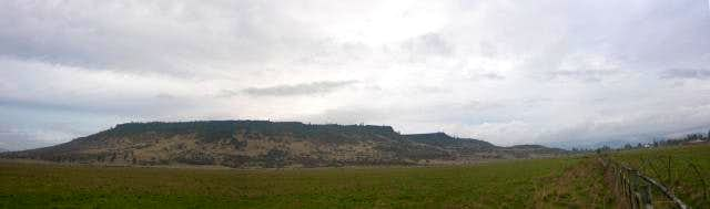 Panorama of Upper Table Rock .