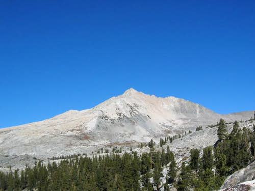 Finger Peak from the south,...