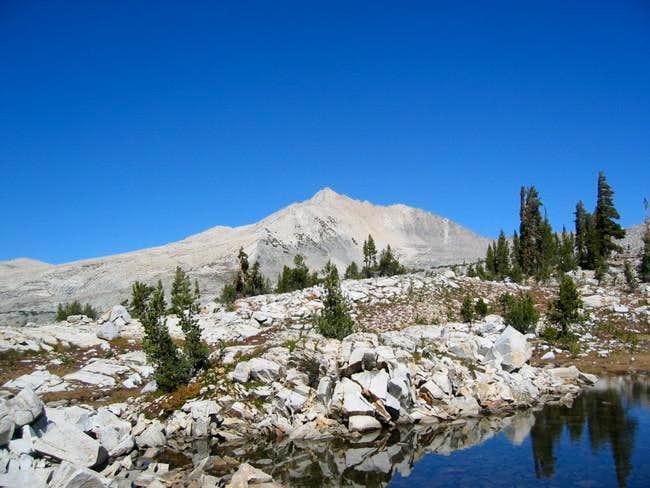 Finger Peak from Lake 10,401'...