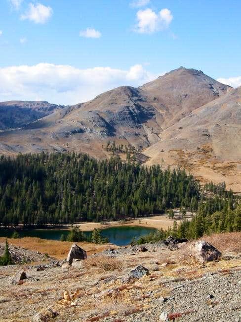 Folger Peak, as seen on the...