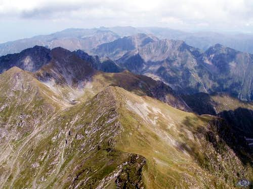 view of the fagaras