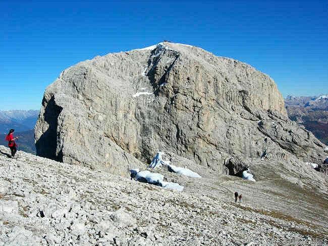 Summit area of Peitlerkofel -...