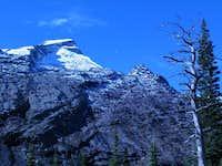 East face of Mountaineer peak...